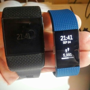 Fitbit Surge vs. Charge 2